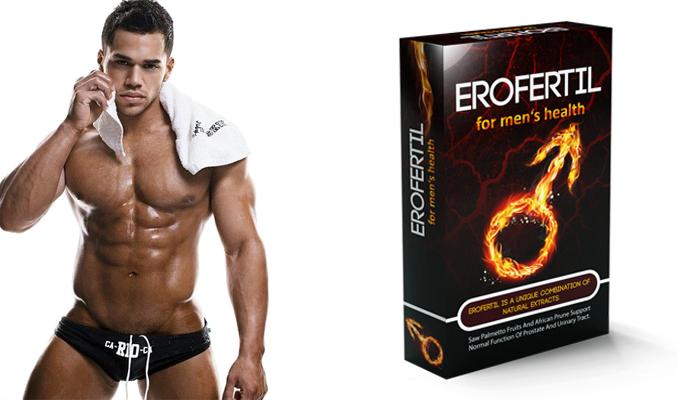 Erofertil: aktivujte silnou potenci v jakémkoliv věku