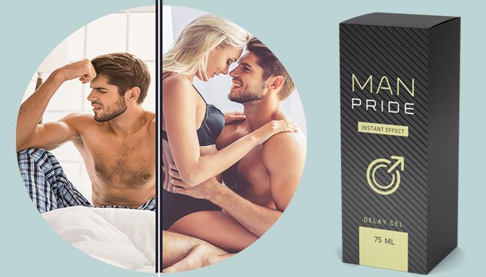 Man Pride: zvětšuje penis a prodlužuje erekci