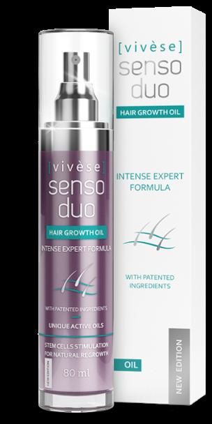 Vivese Senso Duo Oil: konec vypadávání, rychlý růst a silné prameny