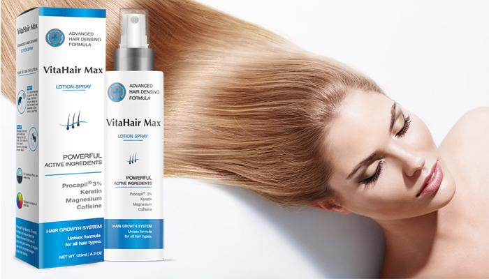 VitaHair Max: оdhalte tajemství hustějších, zesílených a zdravých vlasů