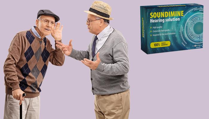 SOUNDIMINE: 4krát lepší sluch bez šumění a hvízdáni!