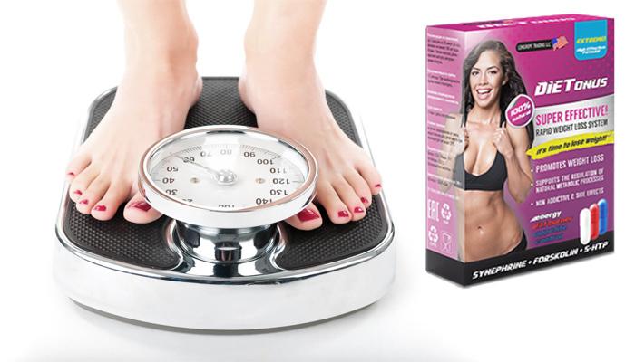 DIETONUS: třifázový inovační přípravek na hubnutí