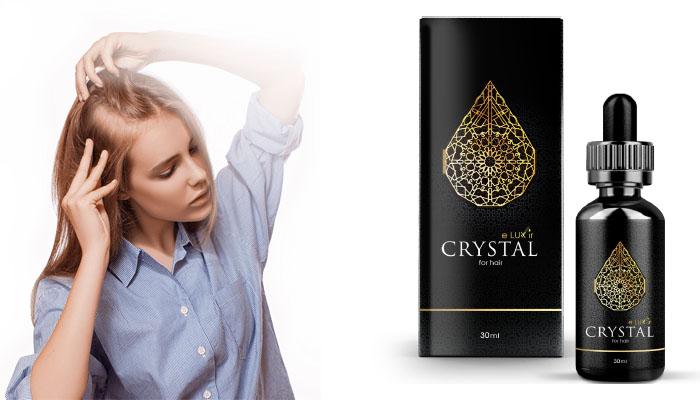 CRYSTAL ELUXIR: zastavuje vypadávání vlasů a stimuluje růst nových!
