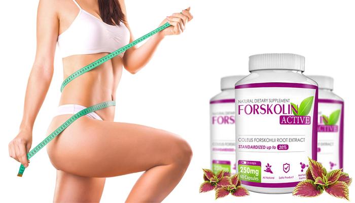 Forskolin ACTIVE pro hubnutí: spalte tuky rychle!