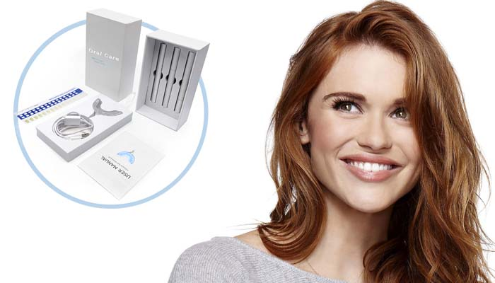 Sada na bělení zubů OralCare: sněhově bílý a oslnivý úsměv