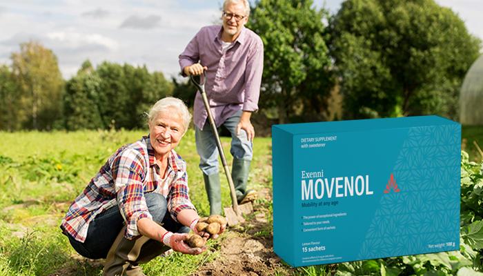 Movenol pro klouby: za 28 dní zapomenete, že vás kdykoliv bolely klouby nebo páteř