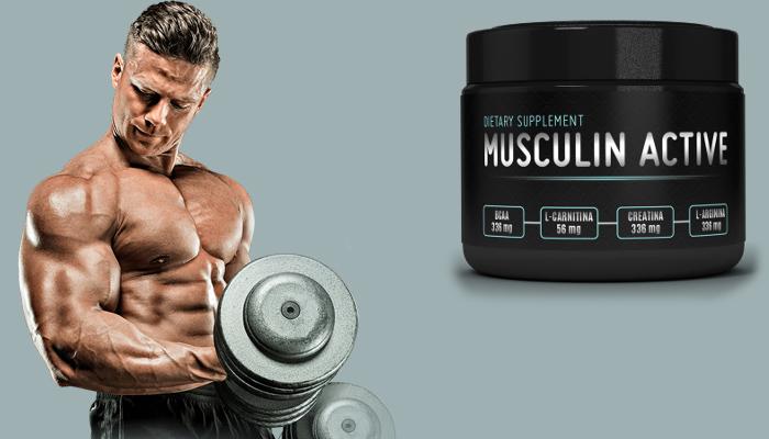 Musculin Active: získáte 10 kg svalů za měsíc!