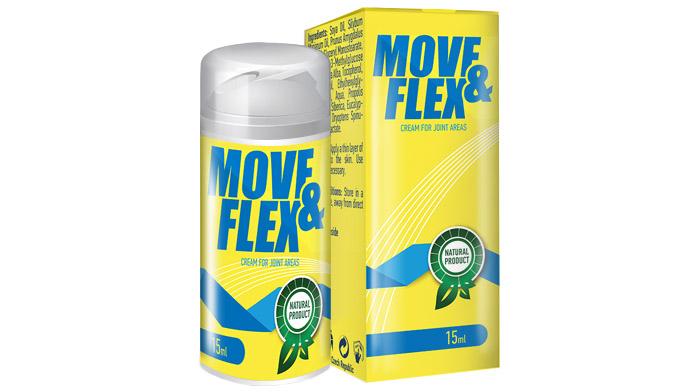 Move&Flex pro klouby: krém lečí artritidu, artrózu a navrací pohyblivost kloubů