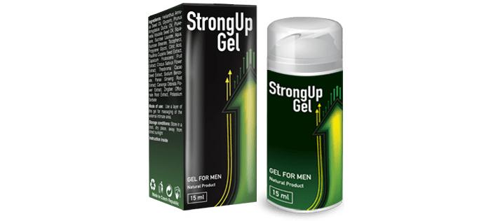StrongUp Gel pro potenci: gel ověřený časem pro úžasný sexuální život