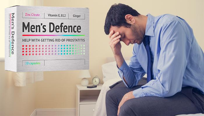 Men's Defence: profesionální lék na prostatitidu