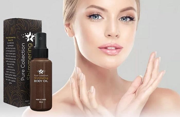 Pure Shimmering Body olej na kůži: budete příjemně překvapená změnou Vaší pleti!