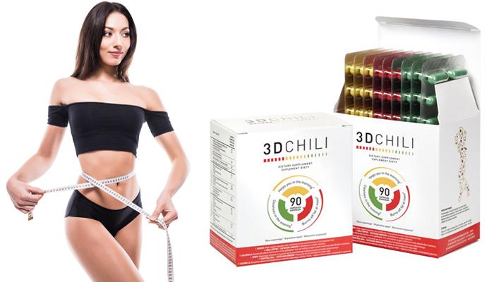 3D Chili pro hubnutí: odstraň prebytečný tuk!