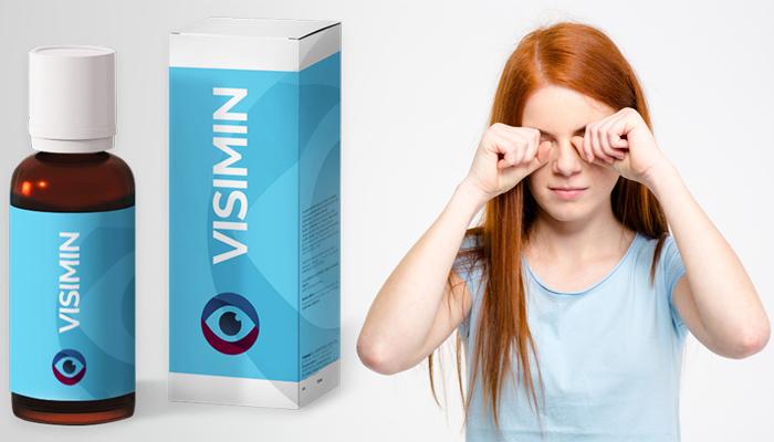 VISIMIN: eliminuje jakékoli příznaky očních onemocnění a znovu vytváří zrak