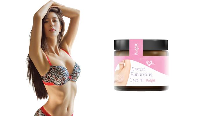 BustiFull pro zvětšení prsou: pomáhá přirozeně prsy růst