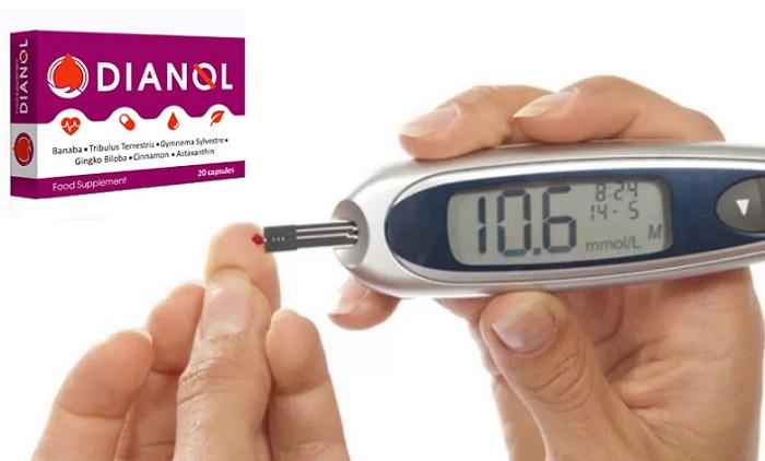 DIANOL z cukrovky: stabilizuje hladinu cukru a normalizuje tvrobu inzulinu!
