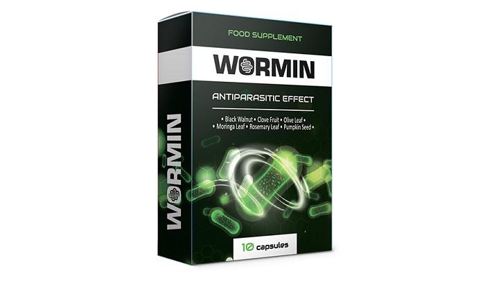 WORMIN od parazitů: zbavuje organizmus všech druhů parazitů!