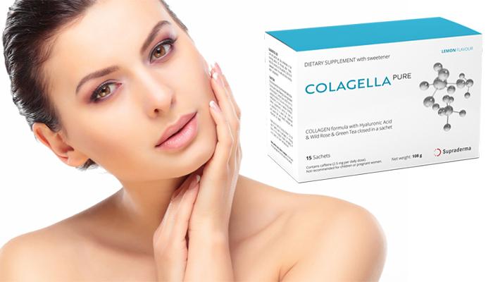 Colagella Pure proti vráskám: odstraníte 98 % vrásek a omladíte si pokožku obličeje a krku minimálně o 15 let za 28 dní