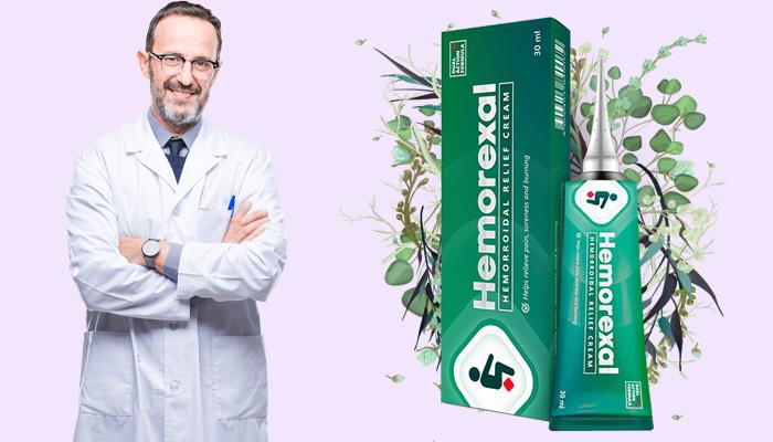 Hemorexal proti hemoroidům: rychlá úleva od bolesti a úleva od dalších příznaků