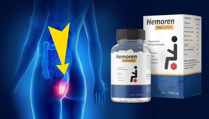 Hemoren ProComfort proti hemoroidům: zbavte se hemeroidů jednou provždý!