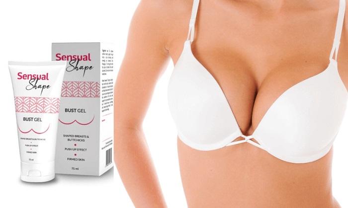 Sensual Shape pro zvětšení prsou: EFEKTIVNÍ ZVĚTŠENÍ A ZPEVNĚNÍ VAŠICH PRSOU!
